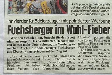 Kronen Zeitung 2016