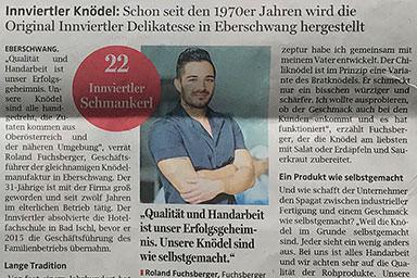 Rieder & Schärdinger Volkszeitung 2017