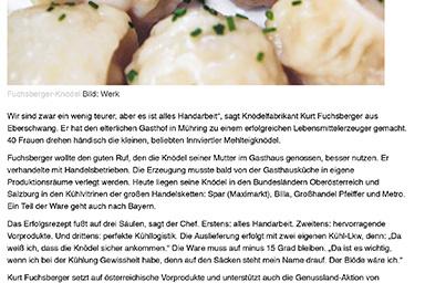 OÖNachrichten, August 2009